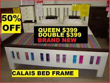 Queen Bed Frame New Was $799. Sell $399. 50% OFF CALAIS MODEL Brisbane Region Preview