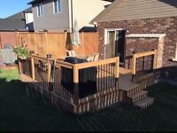 *Free Estimates* Decks, Fences, Gates, Lighting, etc!