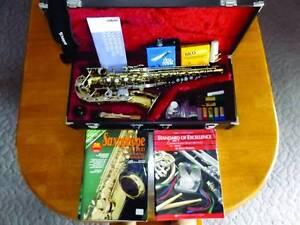 Yamaha AS100 Alto Saxophone Kedron Brisbane North East Preview