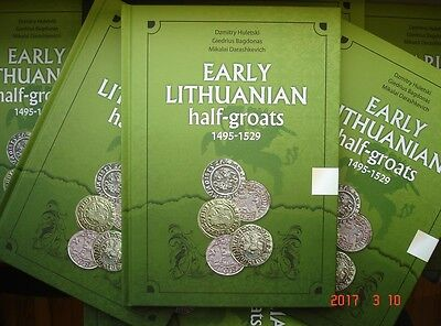 """Post-medieval hammered coins catalogue """"Early Lithuanian half-groats 1495-1529"""""""
