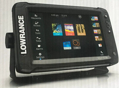 LOWRANCE ELITE-9 TI COMBO TOTALSCAN TRANSDUCER FREE CMAP INSIGHT PRO & -