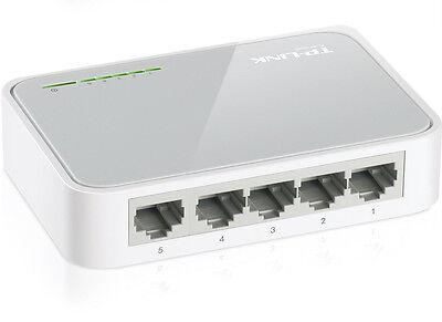 TP-Link 5 Port Cat 5e RJ45 UTP Network Switch Hub Ethernet Splitter Network Hub