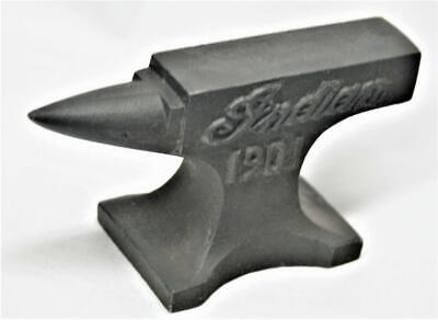 Reproduced miniature  - INDIAN ANVIL  Jewelry  Paper Weight - Biker Motor Cycle