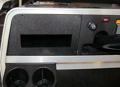 CLUB CAR DS Golf Cart Radio Dash Plate Kit With Screws to Easly install a stereo