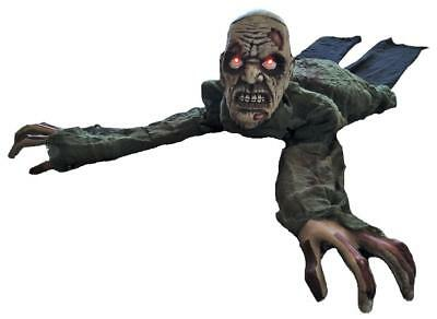 3 FT LIFE SIZE ANIMATED CRAWLING ZOMBIE HALLOWEEN PROP HAUNTED HOUSE SPIRIT (Crawling Zombie)