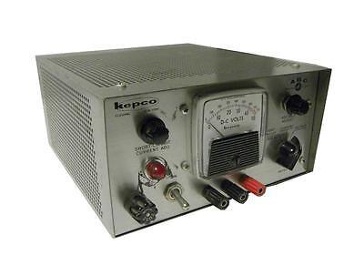Kepco Power Supply 0-40 Vdc 0.5 A Model Abc 40-.5