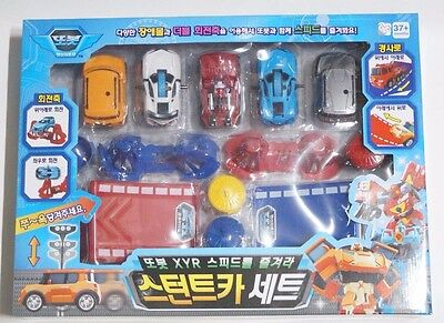 Young Toys Tobot : Shooting Stunt 5 Car Play Set