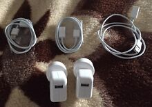 2 APPLE IPOD USB POWER ADAPTERS chargers& 3 Extension cables-freepost Dingley Village Kingston Area Preview