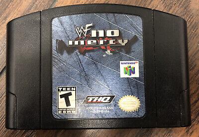 WWF No Mercy (Nintendo 64, 2000) Cartridge Only TESTED NUS-NW4E-USA Cart