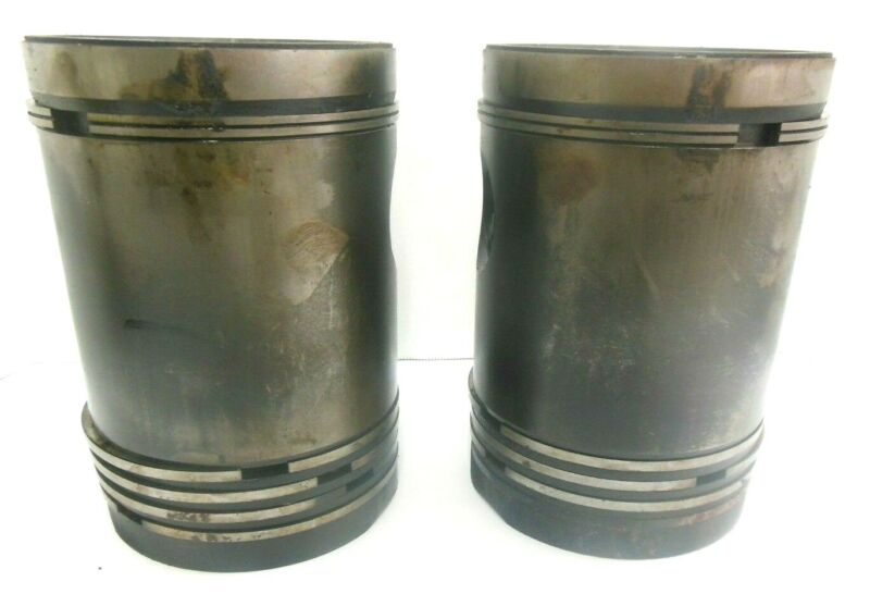 USED JOHN DEERE A TRACTOR GASOLINE PISTONS  A3282R, AA4338