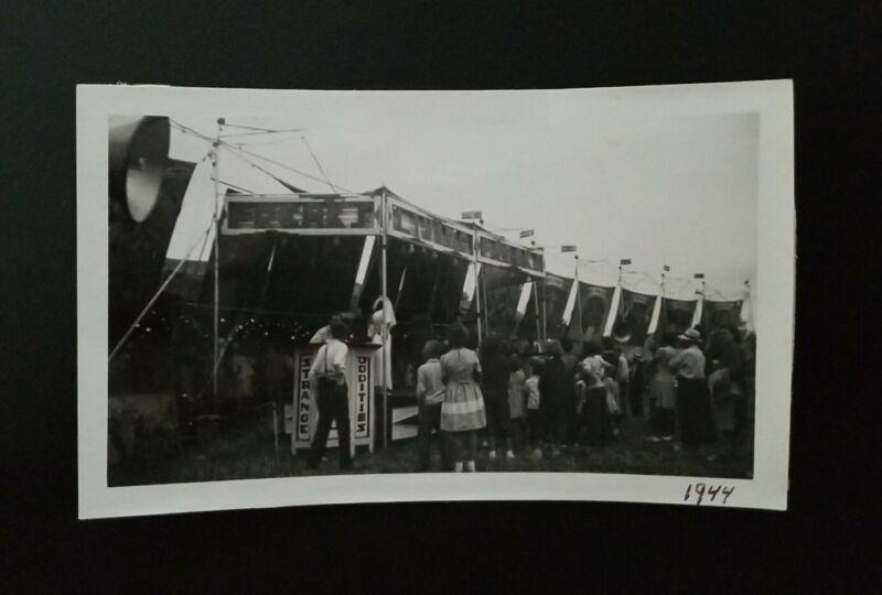 "Carnival Johnny J. Jones Exposition ""FREAK SHOW"" Vintage Photo Reprint"