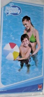 16 Inch Beach Ball (BEACH BALL 16 INCH INFLATABLE SPLASH AND PLAY BEACH BALL TOY /SEE MY OTHER)