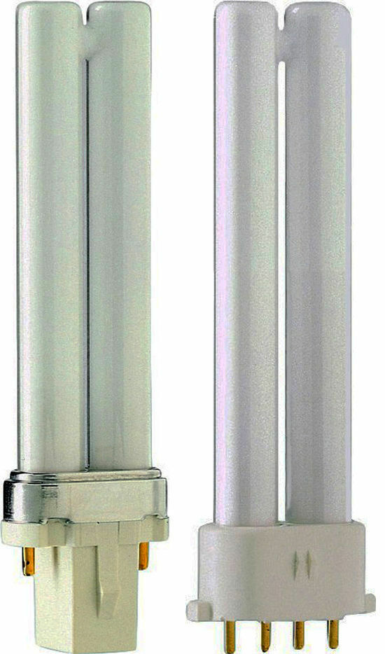 Philips Kompaktleuchtstofflampe PL-S 11 Watt 830 2 Pins G23