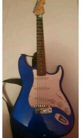 Brand new electric guitar plus extras