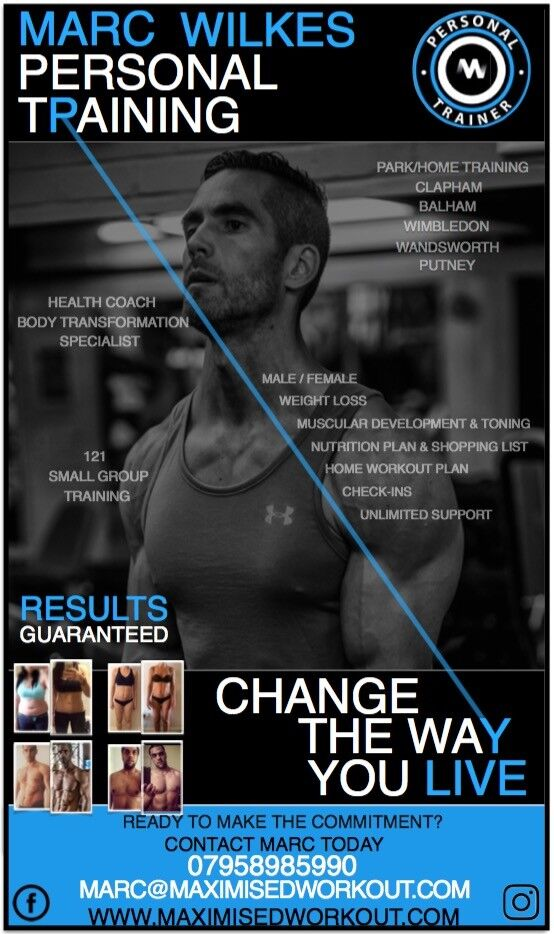 BODY TRANSFORMATION STARTER PACK! 3 SESSIONS FOR £65