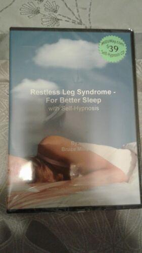 Restless Leg Syndrome - For Better Sleep - Self Hypnosis CD SRP $39
