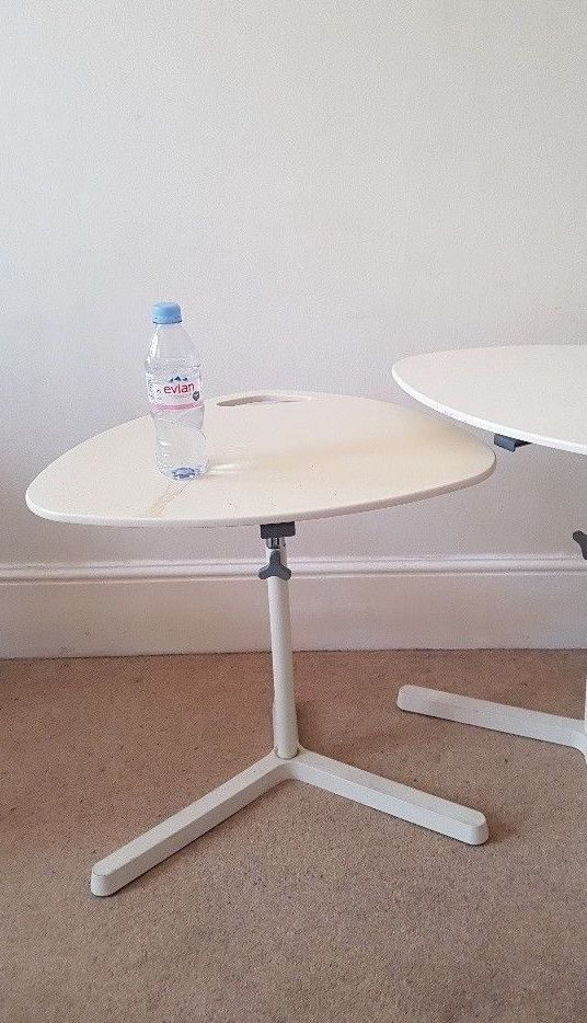 Ikea Laptop Stand Table White Dave