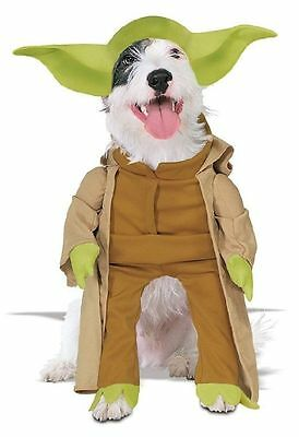 Star Wars Yoda Halloween Dog Pet 2-Piece Costume Small (New with Tags) ()