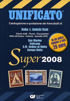 * UNIFICATO Super 2008 : Catalogazione e quotazione dei francobolli . . . ., usato usato  Narni Scalo