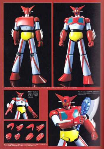 *USA SOUL OF CHOGOKIN GX-74 GETTER 1 D.C. ROBO (WITH 1ST RELEASE BONUS)