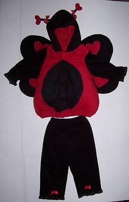 OLD NAVY 2 pc LADYBUG Lady Bug COSTUME 12-24 MO 12 18 24 Halloween](Old Navy Ladybug Costume)