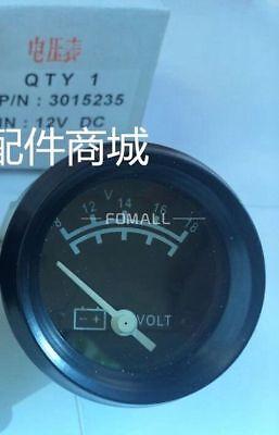 1 Pcs New 3015235 12vcummins Diesel Generator Set Accessories Voltmeter