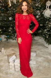 Myleene Klass lace maxi dress