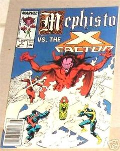 MEPHISTO-VS-X-FACTOR-2-X-MEN-1987-LIMITED-MINI-SERIES-VF