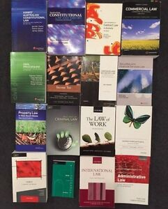 Law text books - $40 each or 2 for $70 Sydney City Inner Sydney Preview