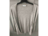 C new look grey cardi 12