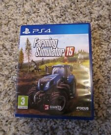 PS4 Farm Simulator 15. SWAP