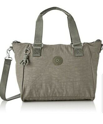 NEW Kipling Amiel Seagrass Medium handbag across body bag Rrp£73