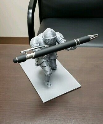 3d Printed Medieval Knight Pen Holder