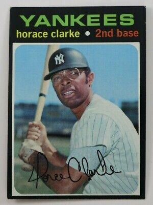 1971 TOPPS BASEBALL HIGH 715 HORACE CLARKE CARD SHORT PRINT