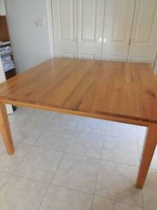 8 Seater square Solid Wood Dining Table