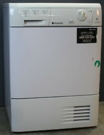 Condencer Dryer Hotpoint 8kg Capacity *** WITH WARRANTY***