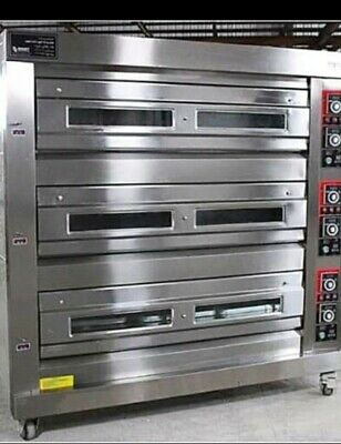 3 Deck Oven Electric With 9trays