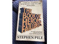 """Stephen Piles """"The Book Of Heroic Failures"""""""