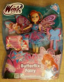 Butterflix fairy from winx club BNIB