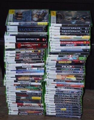 XBOX 360 GAMES PICK AND CHOOSE FREE SHIPPING BUY 3 GET 1 FREE