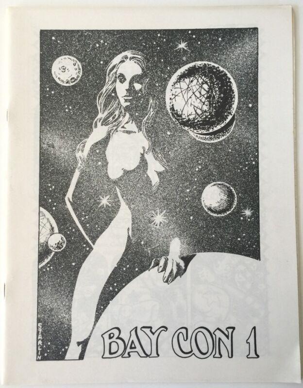 4 Bay Con Programs 1975-1978 Comic Book Convention Bay Area