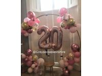 Balloon Arch Hire   Greys occasions Hire