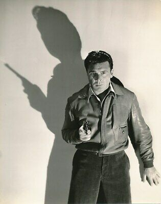 GEORGE BRENT Original Vintage 1930s WELBOURNE Warner Bros. Shadow Portrait Photo