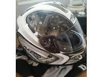 Spare Motorbike helmet. VGC