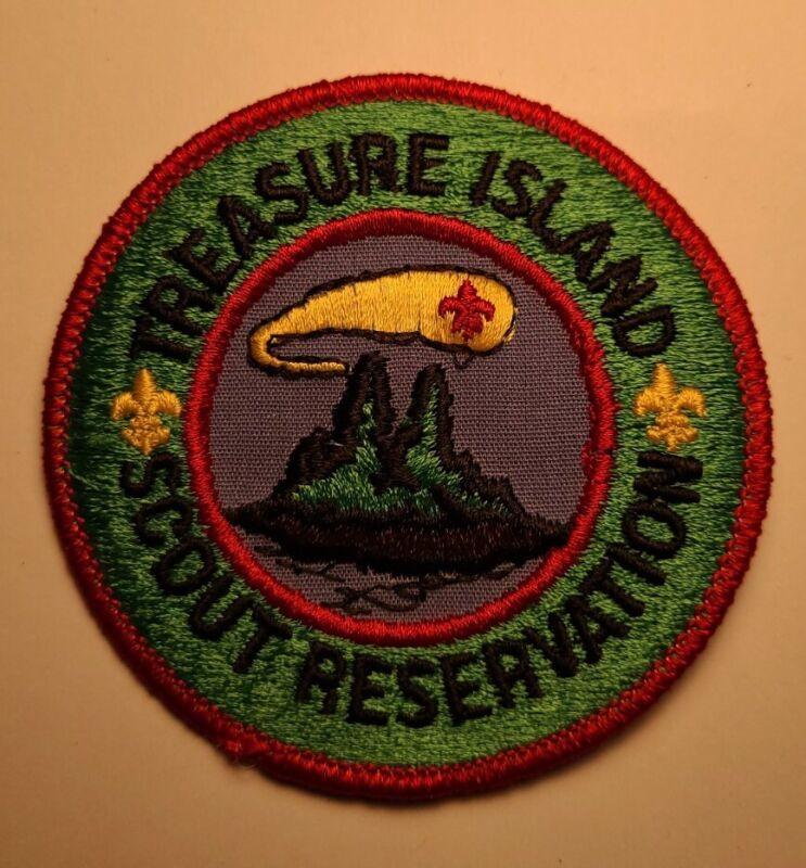 TREASURE  ISLAND RESERVATION RED BORDER
