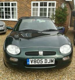MGF 1.8 CONVERTIBLE 1999 V 8 MONTHS MOT EXCELLENT ENGINE LOVELY CONDITION