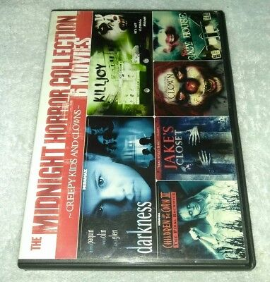 Creepy Kids & Clowns (6 Films) DVD *HALLOWEEN*HORROR](Filme Halloween 6)