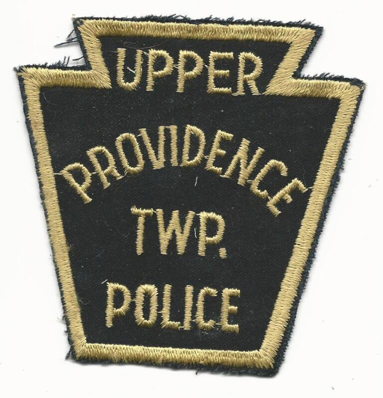 Upper Providence Twp PA Police Patch Sew On Free Shipping Delaware County