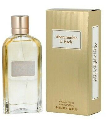 NIB Abercrombie & Fitch First Instinct Sheer Woman Eau de Parfum 3.4 fl oz 100ml