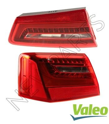 For Audi A6 Quattro S6 12-15 Set of Left Inner & Outer Tail Lights OEM Valeo Set